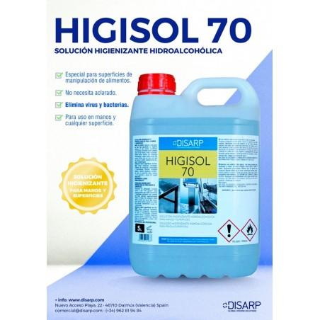 HIGISOL 70 5L - CAJA 4 UNIDADES