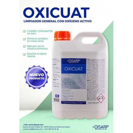 OXICUAT - LIMPIADOR GENERAL CON OXIGENO ACTIVO - CAJA 4 Und.